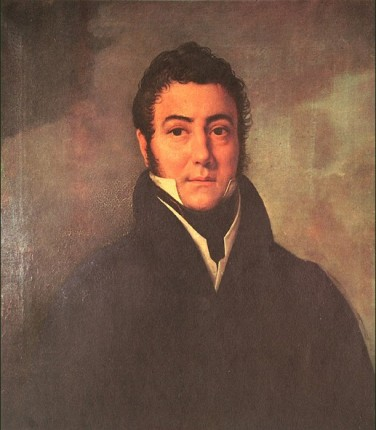Oleo de José de San Martín por Francois Navez
