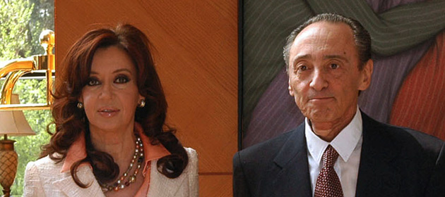 Cristina Kirchner y Héctor Magnetto