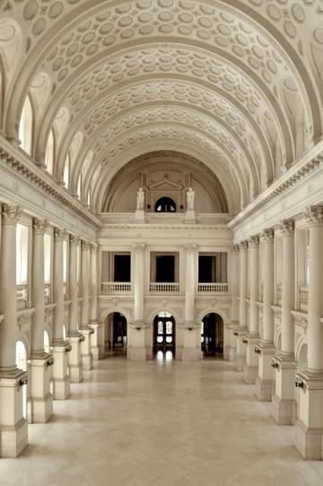 Salón de los Pasos Perdidos  del Palacio de Justicia de Córdoba