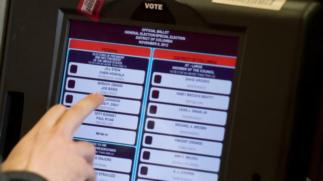 Voto electrónico en EEUU en 2002